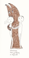 021_cuddling is difficult
